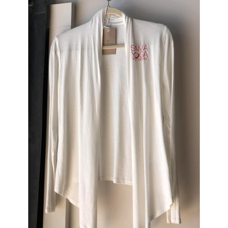 Sama Spring Wrap in White